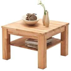 Bettina Wooden Coffee Table Square In Beech Heartwood