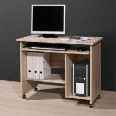 Small Office Computer Desk in Canadian Oak