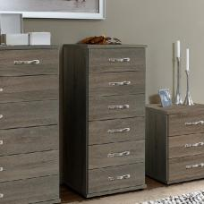 Candice Chest of Drawers In Montana Oak With 6 Drawers