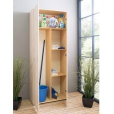 Clause Wooden Bathroom Storage Cabinet In Sonoma Oak