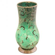 Mosaic Green Vase Lamp