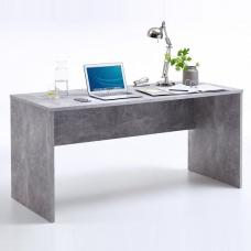 Cooper Wooden Computer Desk Rectangular In Light Atelier