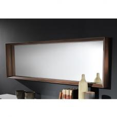 Devon Contemporary Wooden Rectangular Wall Mirror