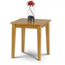 Duchess Wooden Lamp Table Square In Light Oak