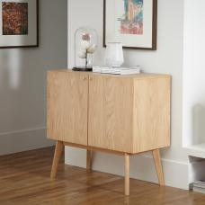 Eleanor Wooden Sideboard Small In Oak
