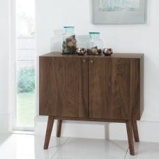 Eleanor Wooden Sideboard Small In Walnut