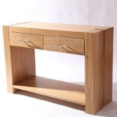 Electra Wooden Console Table With 2 Drawers