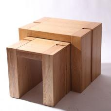 Electra Wooden Nest of Tables