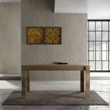 Ellie Wooden Dining Table Rectangular In Canyon Oak