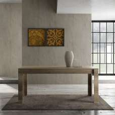 Ellie Wooden Dining Table Large In Canyon Oak