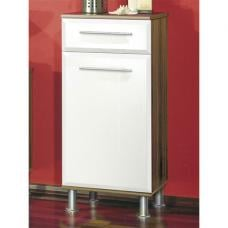 Jessica Walnut Freestanding Bathroom Cabinet