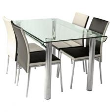 Pembroke Glass Dining Table Only