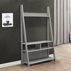 Glacier Wooden Entertainment Unit In Grey