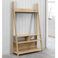 Glacier Wooden Entertainment Unit In Oak