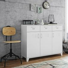 Hampstead Wooden Sideboard Rectangular In White