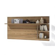Huxley Wooden Wall Mounted Panel In Bianco Oak And LED