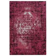 Jacquard Woven Red Rug