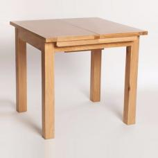 Lexington Wooden Extending Dining Table In Oak