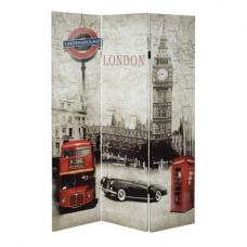 London Folding Canvas Room Divider