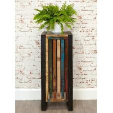London Urban Chic Wooden Plant Stand Or Lamp Table