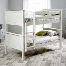 McKenzie Wooden Bunk Bed In White Pine