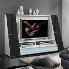 Star Black Rain Entertainment Center Unit