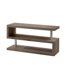 Miami Contemporary TV Stand Shelving In Ash Wood
