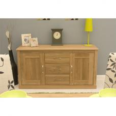 Artisan Wooden Large Sideboard In Oak With 2 Doors