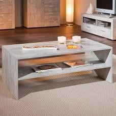 Monton Coffee Table Rectangular In Concrete Effect