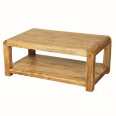 Nancy Coffee Table Rectangular In Solid Acacia Wood