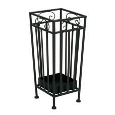 Novo Modern Umbrella Stand In Black