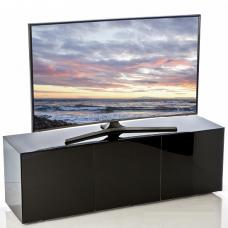 Nexus Large TV Stand In Black High Gloss With Wireless Charging