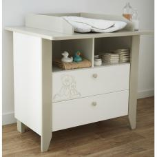 Orsang Childrens Chest of Drawers In White With 2 Drawers