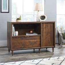 Palais Wooden Sideboard In Walnut With 1 Door And 1 Drawer