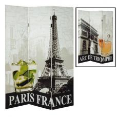 Paris Canvas Folding Room Divider
