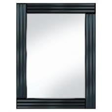 Black Panel 60x80 Rectangle Mirror