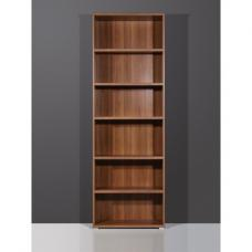 Vision Dark Walnut 6 Tier Shelving Unit