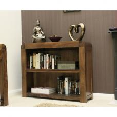 Shiva Walnut Low Bookcase