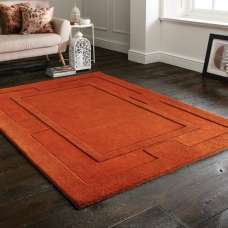 Sierra Apollo Rust Rug