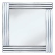 Stripe Square 60x60 Decorative Mirror