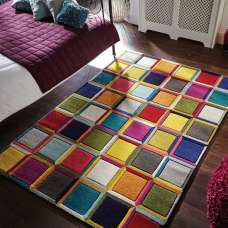 Spectrum Waltz Oblong Rug
