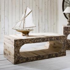 Spectrum Coffee Table Rectangular In Recycled Teak Samplings