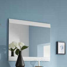 Staley Wall Mirror Rectangular In White