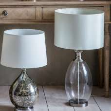 Sulgrave Table Lamp With Textured Glass Body