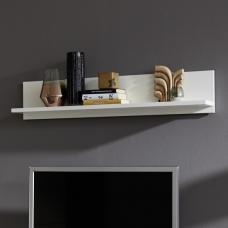 Terence Wall Mounted Display Shelf In White