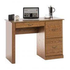 Triest Wooden Home Office Computer Desk In Oak