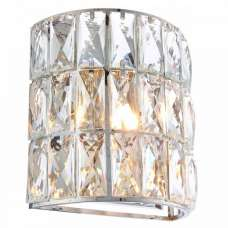 Verina Jewelled Crystal Glass Effect Wall Light