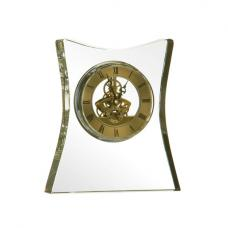 Mantle Clock Crystal and Gold