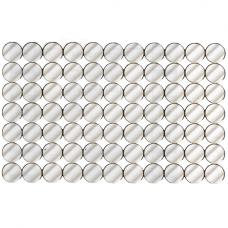 Solitaire Circles Wall Mirror