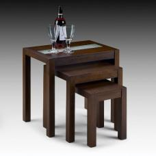 Madrid Nest Of Table In Walnut Wood